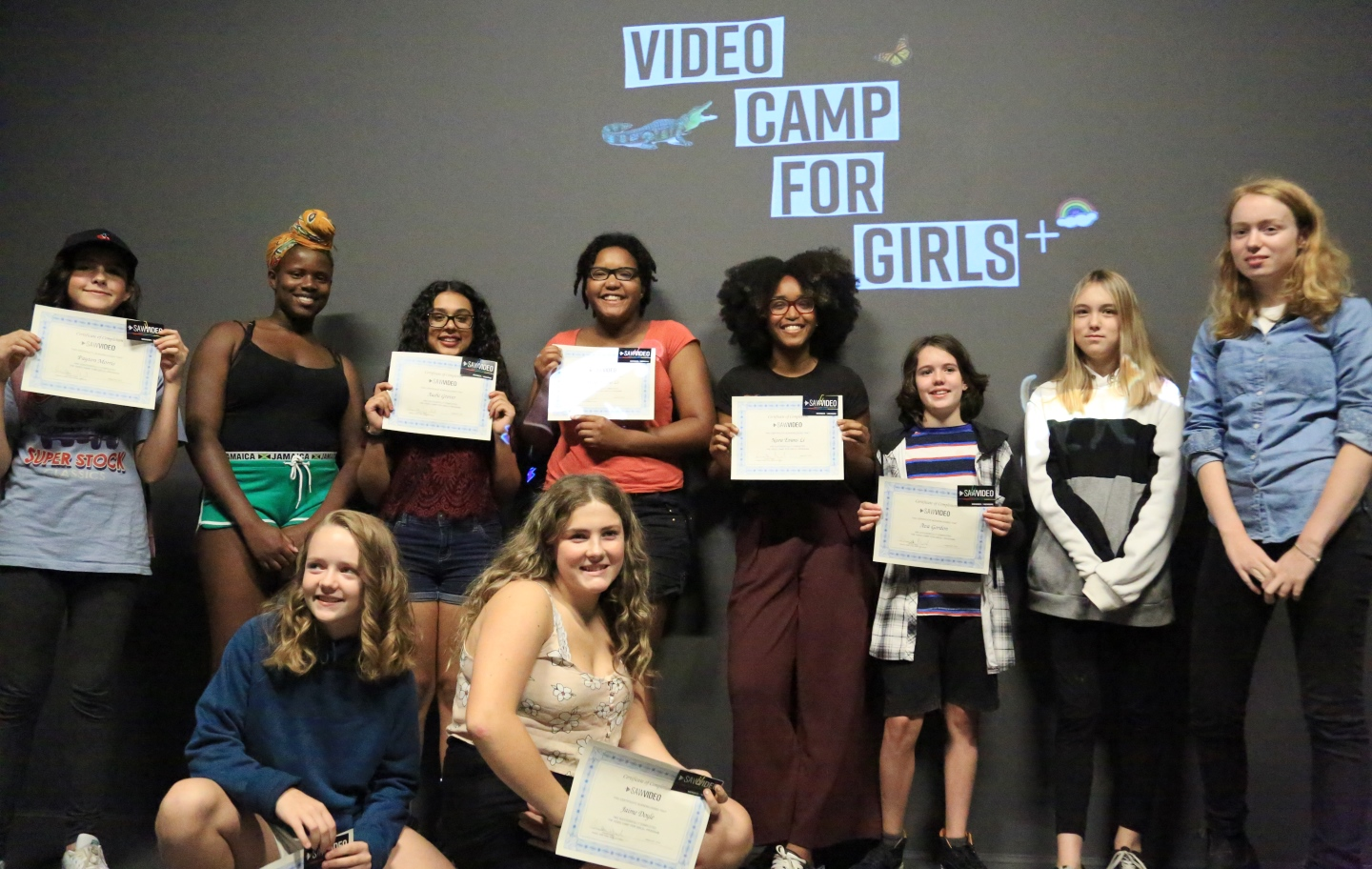 Video Camp For Girls Participants