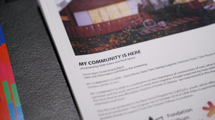 MY COMMUNITY IS HERE, presented by Kind Space in Knot Project Space