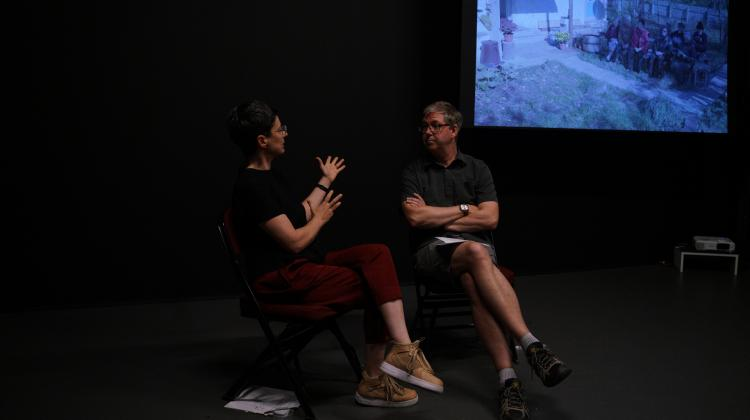 Laura Taler in Dialogue with Gunnar Iversen, Knot Project Space