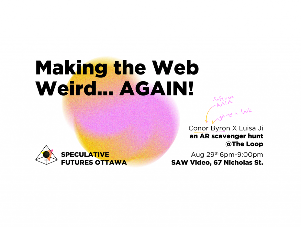 Making the Web Weird...AGAIN!