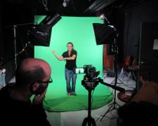 Image of a Green Screen