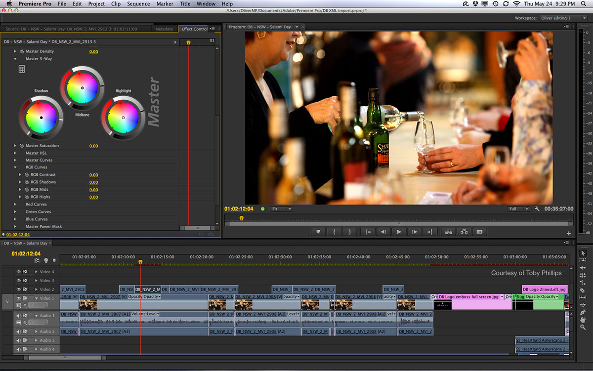 premiere pro video editing